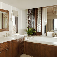 eclectic bathroom by mark cutler