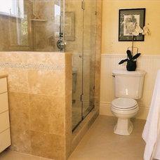 Traditional Bathroom by Lauren Brandwein