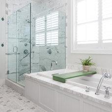 Beach Style Bathroom California Cape Cod