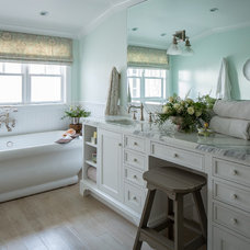 Traditional Bathroom by Shannon Ggem ASID