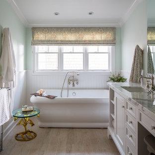 Esempio di una stanza da bagno vittoriana