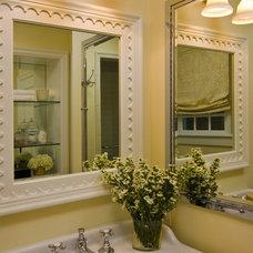 Traditional Bathroom by Jana Happel Interior Design