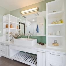 Contemporary Bathroom by Noelle Interiors