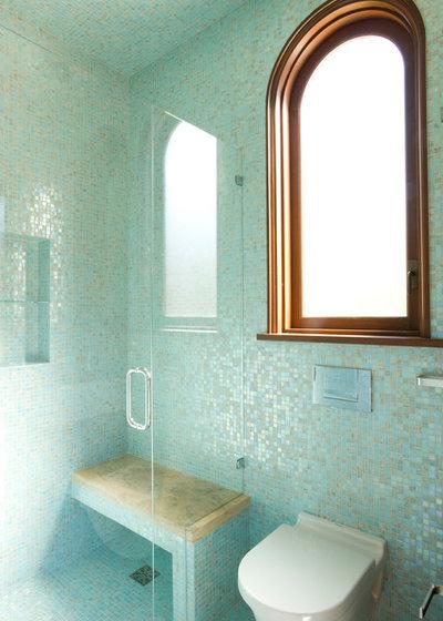 Mediterranean Bathroom by Mattingly Thaler Architecture