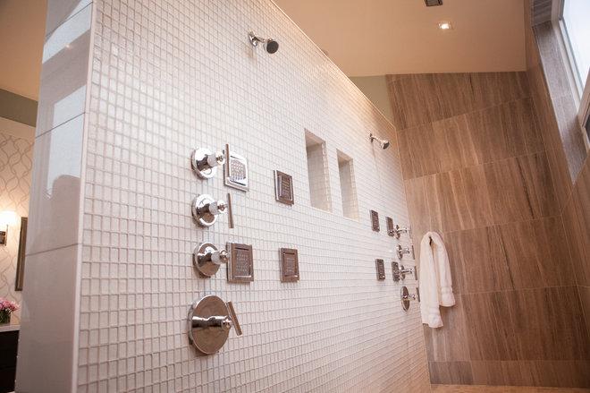 Modern Bathroom by Lauren Brandwein