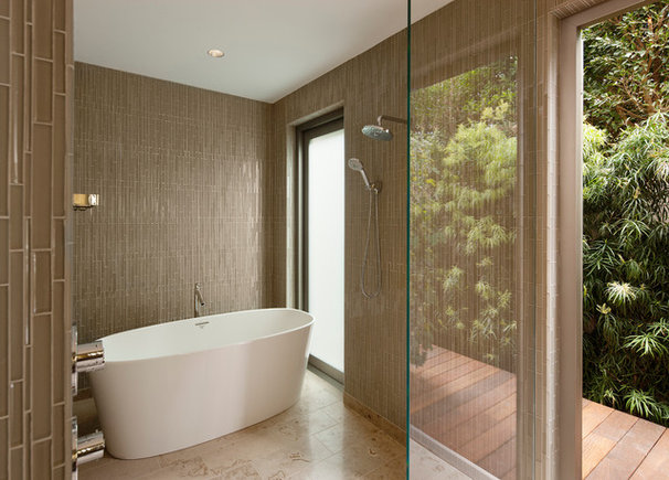 Contemporary Bathroom by Maienza - Wilson Interior Design + Architecture