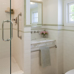 traditional bathroom by Custom Kitchens by John Wilkins Inc