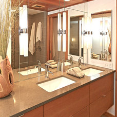 Contemporary Bathroom by Kitchen Choreography