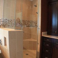 Traditional Bathroom by Soucki Designs LLC