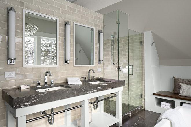 Contemporary Bathroom by DiGiacomo Homes & Renovation