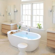 Contemporary Bathroom by Hebert Design Build