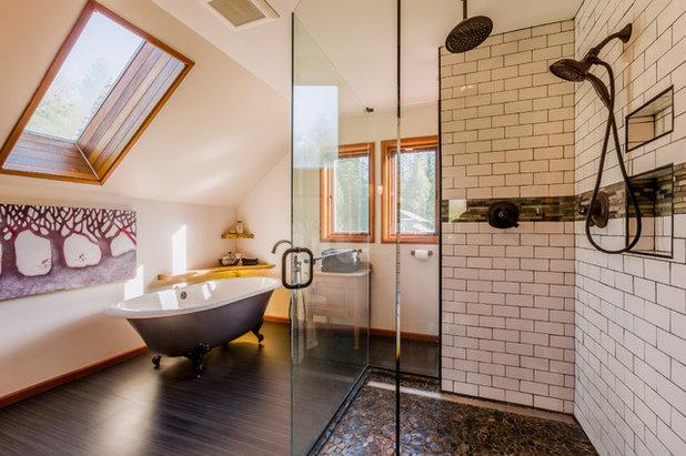 Trend Rustic Bathroom by b van hecke CoDesign Interiors Group