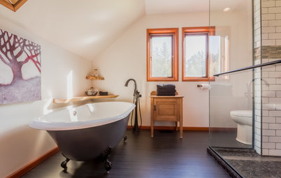 Room of the Day: A Handsome Master Bath for Him