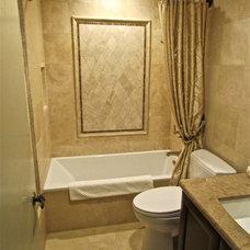 Traditional Bathroom by Gaia Kitchen & Bath