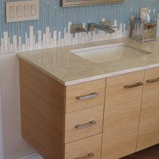 Eclectic Bathroom by Silver Hammer Design