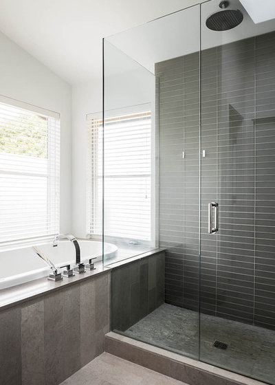 bathed in color when to use gray in the bath, Home decor