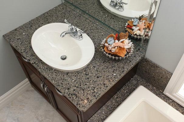 Contemporary Bathroom by Progressive Countertop Systems
