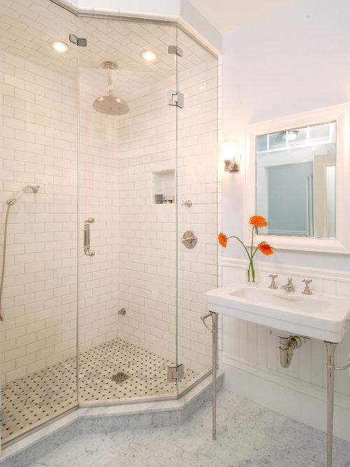 Bathroom Designs No Tiles no tile shower | houzz