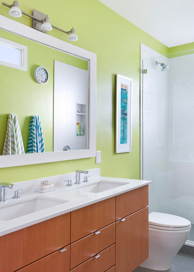 Fabulous Contemporary Bathroom by Pinney Designs