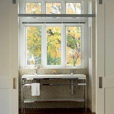Contemporary Bathroom by Foley Fiore Architecture