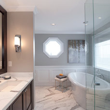 Traditional Bathroom by Erica Winterfield Design