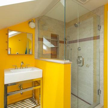 Cambridgeport Attic Bathroom