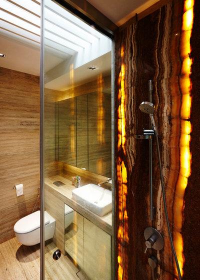 Contemporary Bathroom by Polybuilding Singapore