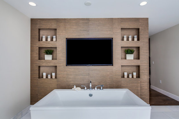 Contemporary Bathroom by Guided Home Design
