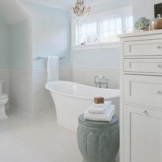 Traditional Bathroom by Marianne Jones LLC