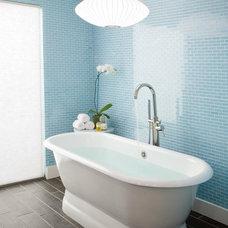 Contemporary Bathroom by Oz Custom Homes