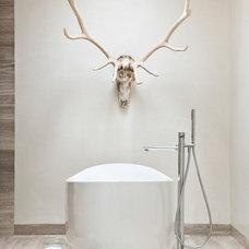 Rustic Bathroom by R Brant Design