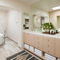 Southwestern Bathroom by R Brant Design