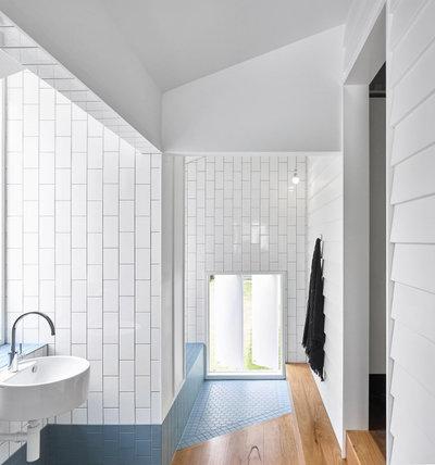 Beach Style Bathroom by Owen Architecture