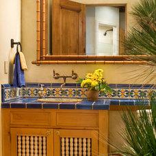 Mediterranean Bathroom by Steve Richmond Fine Homes