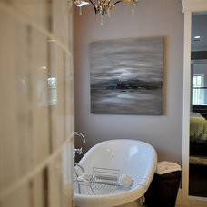 Contemporary Bathroom by Marie Hebson's interiorsBYDESIGN Inc.