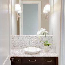 Contemporary Bathroom by MB Designs, LLC