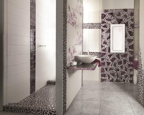 klassische badezimmer mit rosafarbenen fliesen ideen f r. Black Bedroom Furniture Sets. Home Design Ideas