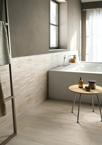 Bathroom by CANCOS Tile & Stone