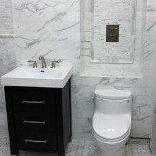 Contemporary Bathroom by CANCOS Tile & Stone