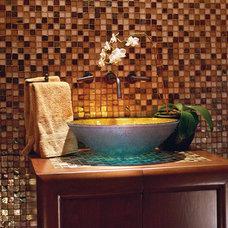 Contemporary Bathroom by Candelaria Design Associates