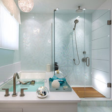 contemporary bathroom by Brandon Barré Architectural Interior Photographer