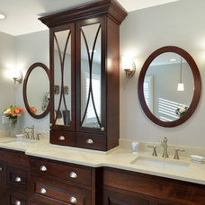 Traditional Bathroom by Candlelight Cabinetry, Inc
