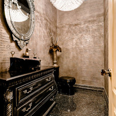 Eclectic Bathroom by Celtic Custom Homes
