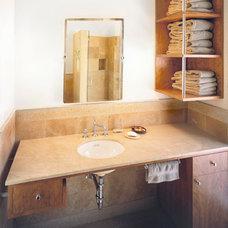 Contemporary Bathroom by Eisner Design LLC