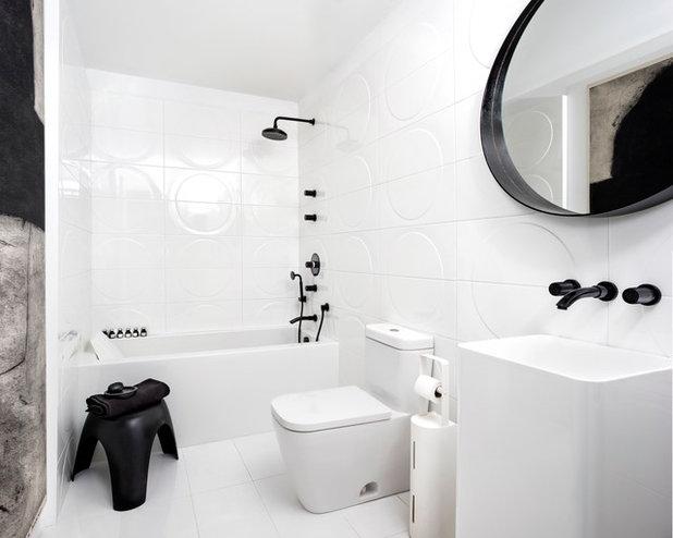 Contemporary Bathroom By Stephane Chamard