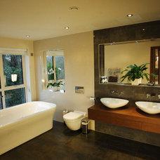 Modern Bathroom by Tek Interiors