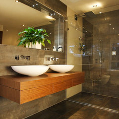 contemporary bathroom by Tek Interiors