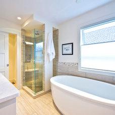 Contemporary Bathroom by Sticks and Stones Design Group Inc