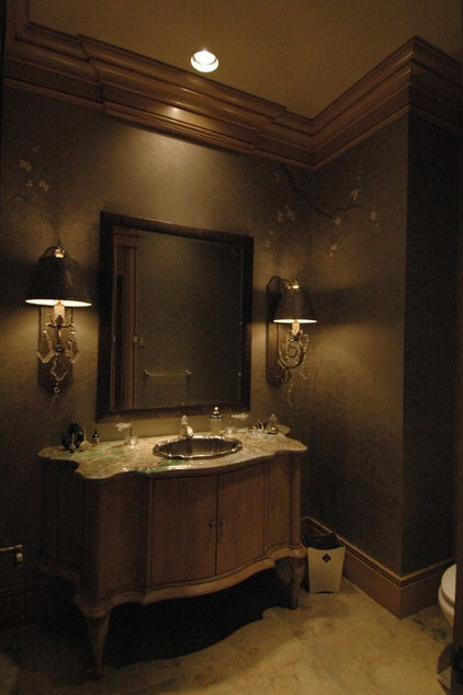 Traditional Bathroom by SKD Architects