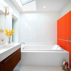 Midcentury Bathroom by CCI Renovations